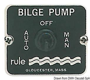 Interruttore Rule pompe  [OSCULATI]