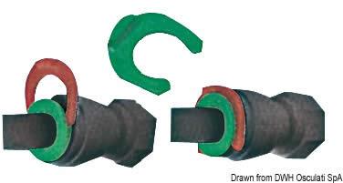 Clip per raccordi FluidFIT  [OSCULATI]