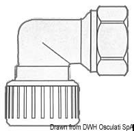 Gomito 1/2 Hydrofix fem/fem  [OSCULATI]