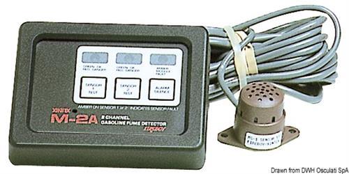 Rivelatore gas benzina M-2A