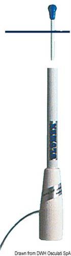 Antenna CB Glomex 150 cm  [OSCULATI]