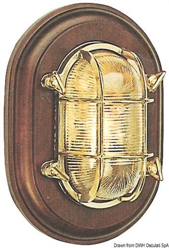 Lamp.tartaruga ovale baselegno  [OSCULATI]