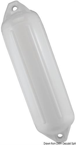 Parabordo Polyform NF3 bianco  [OSCULATI]