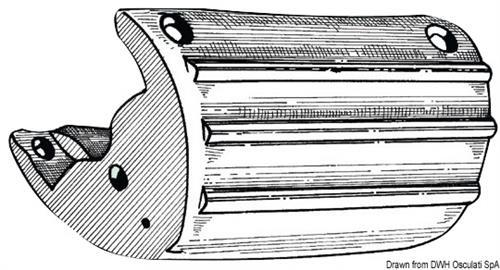 Parabordo PVC per poppa bianco  [OSCULATI]