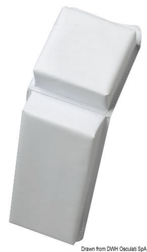 Parabordo PVC piatto 610mm  [OSCULATI]