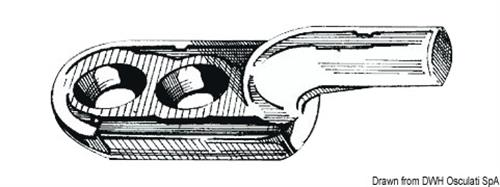 Gancetto ott. cr.43x13x14  [OSCULATI]