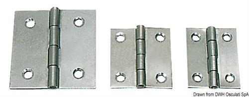 Cerniera inox mm 30x30