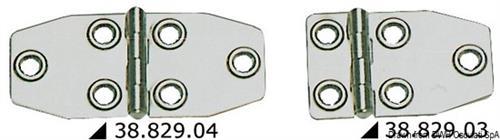 Cerniera inox mm 73x46  [OSCULATI]