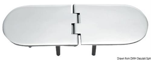Cerniera inox mm 190x65  [OSCULATI]