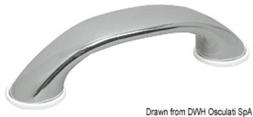 Maniglia inox mm 170x40 2 prig  [OSCULATI]