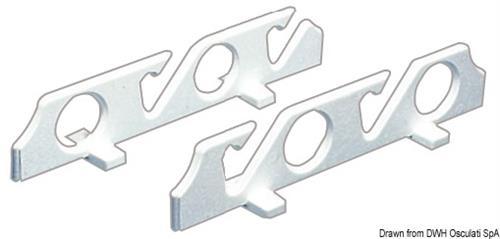 Porta 4 canne polietilene  [OSCULATI]
