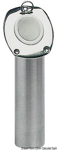 Portacanne incasso inox 42mm  [OSCULATI]
