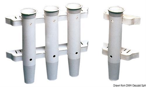 Portacanne plastica bi. 44mm  [OSCULATI]