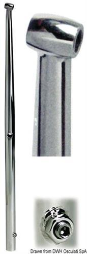 Candeliere inox mm 610  [OSCULATI]