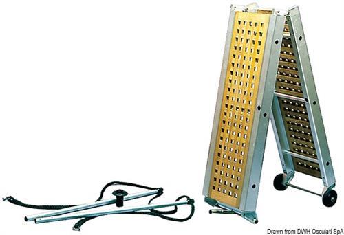 Passerella pieghevole teak 260 cm [Osculati]