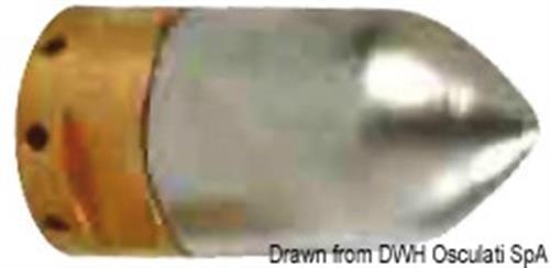 Anodo Ogiva asse mm.25  [OSCULATI]