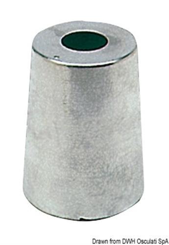 Anodo linea asse radice mm.25  [OSCULATI]