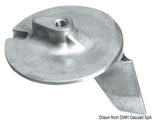 Pinna alluminio Yamaha 200/300 HP  [OSCULATI]