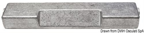 Anodo cavallotto FB 60/300 HP  [OSCULATI]
