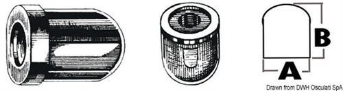 Anodo alluminio AlphaOne 120 HP  [OSCULATI]
