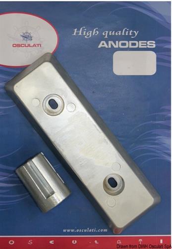 Kit IPS zinco/alluminio  [OSCULATI]
