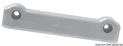 Anodo barra alluminio Volvo Penta  [OSCULATI]