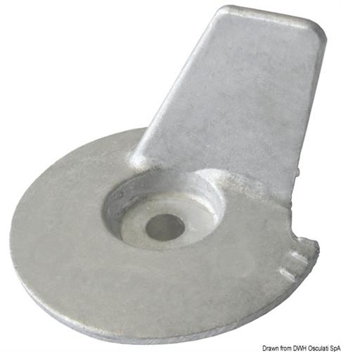 Anodo zinco Tohatsu 8/20 HP - 4 tempi  [OSCULATI]