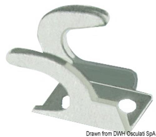 Forcella dx fissaggio guaine nera [OSCULATI]