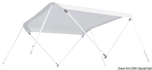 Tendina parasole TESSILMARE per imbarcazioni molto veloci cm 160/180  [OSCULATI]