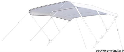 Tendina parasole TESSILMARE per scafi veloci cm 215/235  [OSCULATI]