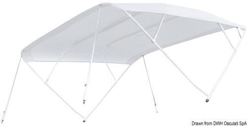 Tendina parasole TESSILMARE cm 160/180 beige per scafi aperti [OSCULATI]