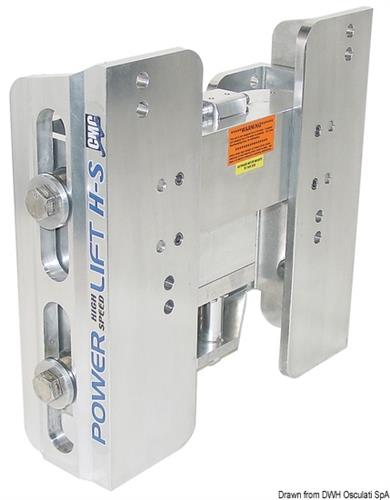 Sollevatore elettro-idraulico per motori fuoribordo FB V6  [OSCULATI]