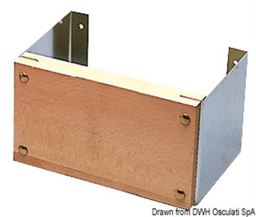 Supporto motore fisso per fissaggio a parete 12 HP  [OSCULATI]