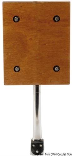 Supporto motore ausiliario con fissaggio a pulpito di poppa  [OSCULATI]