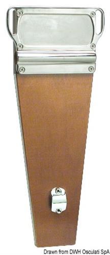 Supporto motore per montaggio sui pulpiti di poppa  [OSCULATI]