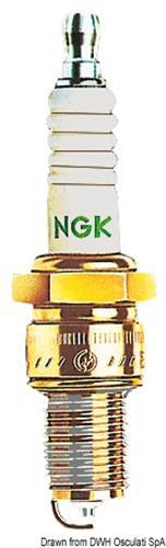 Candela NGK modello BR9HS-10  [OSCULATI]