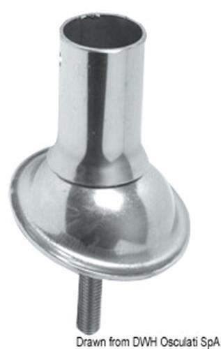 Snodo sferico per plancette mm 25  [OSCULATI]