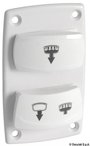 Pannello di comando manuale per WC VACUUM [OSCULATI]