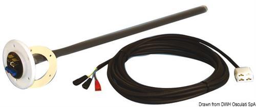 Sensore capacitativo per acque nere L. 240 mm