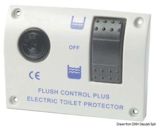 Pannello elettronico di comando per WC 24V  [OSCULATI]
