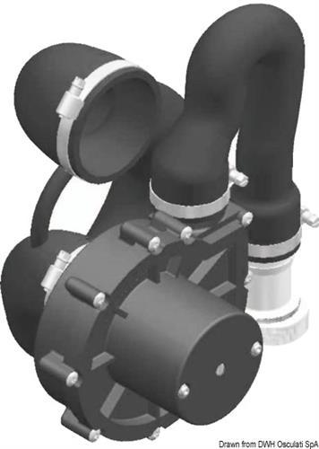 Pompa di ricambio per Wc Silent Wacuum 24V  [OSCULATI]