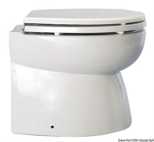 WC Elegant VACUUM BLUE WAVE 12 V dritto [OSCULATI]