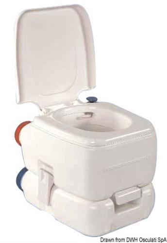 WC chimico cm 43,5x36x39,2  [OSCULATI]