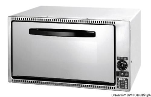 Forno + mini grill DOMETIC a gas da incasso