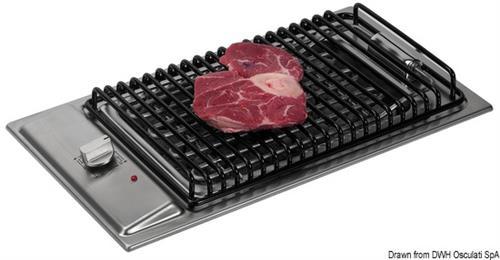 Barbecue elettrico in acciaio inox  [OSCULATI]