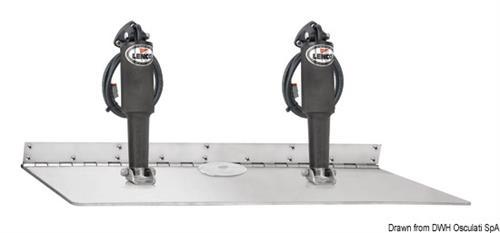 Kit correttori d'assetto LENCO Super Strong 12V con attuatore doppio [OSCULATI]