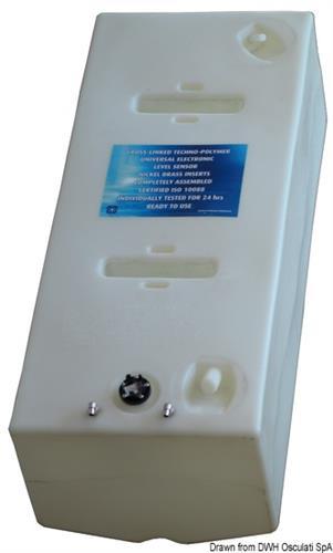 Serbatoio carburante in polietilene reticolato da 271 lt  [OSCULATI]