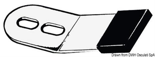 Linguetta fermatimone in acciaio inox   [OSCULATI]