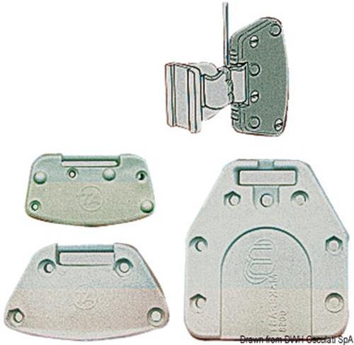 Protezione per terminale stecche vela 15/31 mm [OSCULATI]