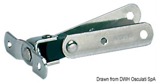 Stick di prolunga barra timone Grateau [OSCULATI]